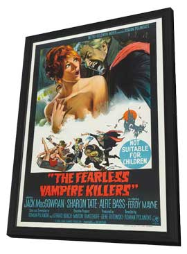 The Fearless Vampire Killers - 11 x 17 Movie Poster - Australian Style A - in Deluxe Wood Frame