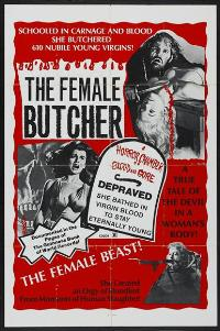 The Female Butcher - 27 x 40 Movie Poster - Style A