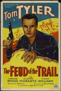 The Feud of the Trail - 11 x 17 Movie Poster - Style A