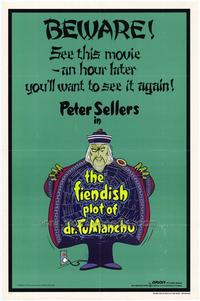 The Fiendish Plot of Dr. Fu Manchu - 27 x 40 Movie Poster - Style A