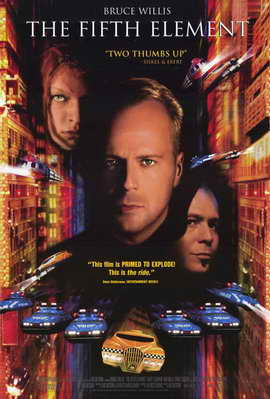 The Fifth Element - 11 x 17 Movie Poster - Style C