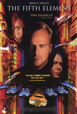 The Fifth Element - 27 x 40 Movie Poster - Style C