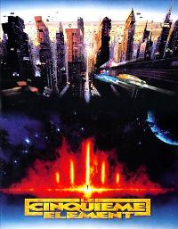 The Fifth Element - 27 x 40 Movie Poster - French Style A