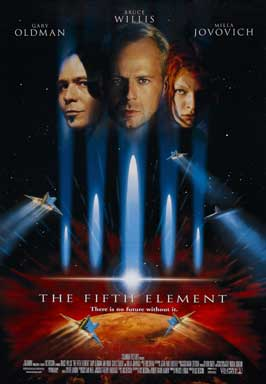 The Fifth Element - 43 x 62 Movie Poster - Bus Shelter Style A
