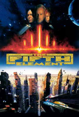 The Fifth Element - 27 x 40 Movie Poster - Style D