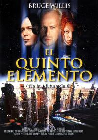The Fifth Element - 11 x 17 Movie Poster - Spanish Style A