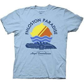 The Fifth Element - Fhloston Paradise Blue T-Shirt