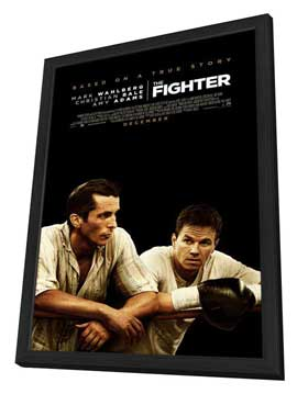 The Fighter - 11 x 17 Movie Poster - Style A - in Deluxe Wood Frame