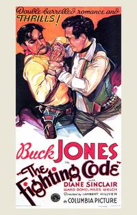 The Fighting Code - 11 x 17 Movie Poster - Style A