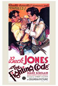 The Fighting Code - 27 x 40 Movie Poster - Style A