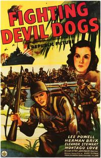 The Fighting Devil Dogs - 27 x 40 Movie Poster - Style B