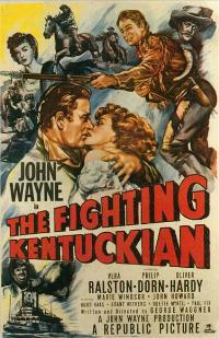 The Fighting Kentuckian - 43 x 62 Movie Poster - Bus Shelter Style B