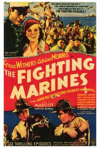 The Fighting Marines - 27 x 40 Movie Poster - Style A