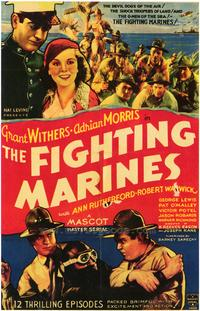 The Fighting Marines - 43 x 62 Movie Poster - Bus Shelter Style A