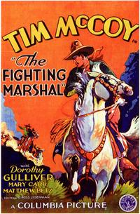 The Fighting Marshal - 11 x 17 Movie Poster - Style A