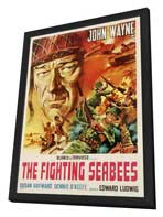 The Fighting Seabees - 27 x 40 Movie Poster - Style B - in Deluxe Wood Frame