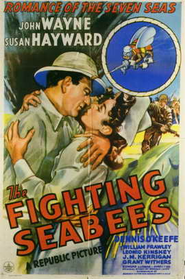 The Fighting Seabees - 11 x 17 Movie Poster - Style A