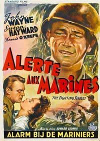 The Fighting Seabees - 11 x 17 Movie Poster - Belgian Style A
