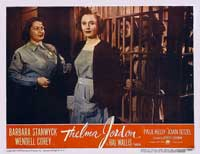 The File on Thelma Jordon - 11 x 14 Movie Poster - Style C