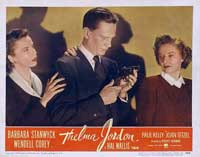 The File on Thelma Jordon - 11 x 14 Movie Poster - Style E