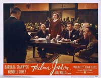 The File on Thelma Jordon - 11 x 14 Movie Poster - Style G