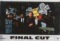 The Final Cut - 11 x 14 Poster French Style A