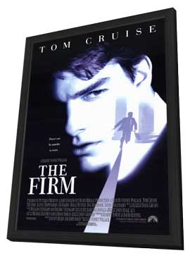 The Firm - 11 x 17 Movie Poster - Style A - in Deluxe Wood Frame