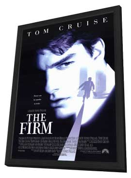 The Firm - 27 x 40 Movie Poster - Style A - in Deluxe Wood Frame