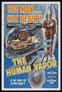 The First Gas Human - 27 x 40 Movie Poster - Style A