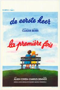 The First Time - 27 x 40 Movie Poster - Belgian Style A