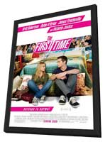 The First Time - 11 x 17 Movie Poster - Style A - in Deluxe Wood Frame