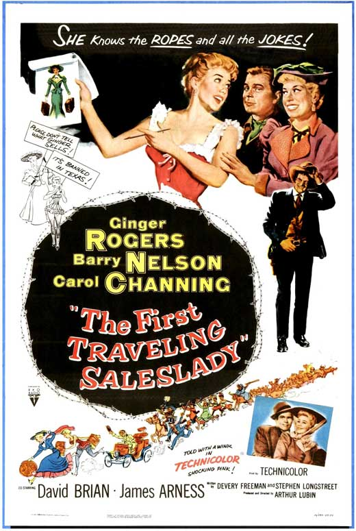 traveling saleslady movie poster