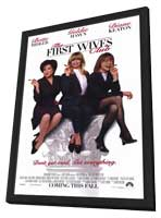 The First Wives Club - 27 x 40 Movie Poster - Style A - in Deluxe Wood Frame