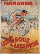 The Five Cents of Lavarede - 27 x 40 Movie Poster - French Style A