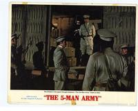 The Five Man Army - 11 x 14 Movie Poster - Style G