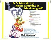 The Five Man Army - 11 x 14 Movie Poster - Style A