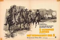 The Five Man Army - 11 x 17 Movie Poster - Belgian Style A