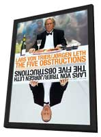 The Five Obstructions - 27 x 40 Movie Poster - Style A - in Deluxe Wood Frame