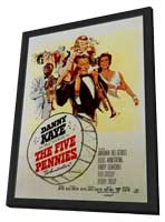 The Five Pennies - 27 x 40 Movie Poster - Style A - in Deluxe Wood Frame