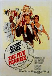 The Five Pennies - 43 x 62 Movie Poster - Bus Shelter Style A