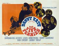 The Five Pennies - 22 x 28 Movie Poster - Half Sheet Style A
