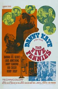 The Five Pennies - 11 x 17 Movie Poster - Style B