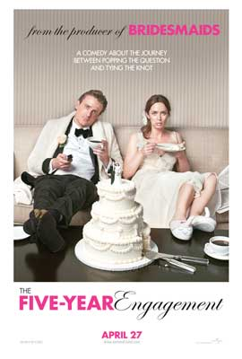 The Five-Year Engagement - 11 x 17 Movie Poster - Style A