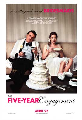 The Five-Year Engagement - DS 1 Sheet Movie Poster - Style A