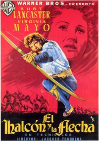 The Flame and the Arrow - 27 x 40 Movie Poster - Spanish Style A
