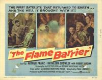 The Flame Barrier - 11 x 14 Movie Poster - Style A