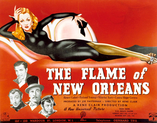 The Flame of New Orleans movie