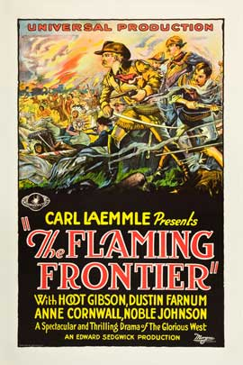 Flaming Frontier, The - 11 x 17 Movie Poster - Style B