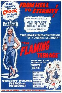 The Flaming Teen-Age - 11 x 17 Movie Poster - Style A