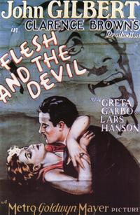 The Flesh and the Devil - 11 x 17 Movie Poster - Style B